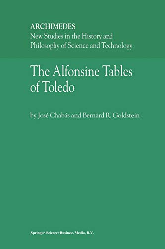 The Alfonsine Tables of Toledo: José Chabás