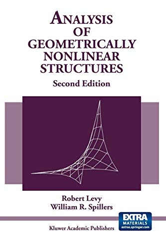 9789048164387: Analysis of Geometrically Nonlinear Structures