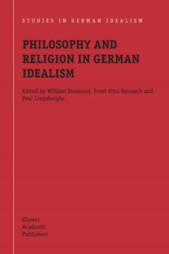 9789048166381: Philosophy and Religion in German Idealism (Studies in German Idealism)