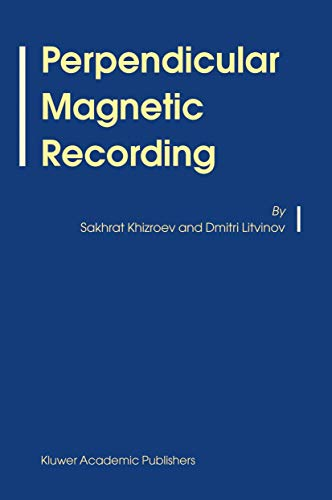9789048166992: Perpendicular Magnetic Recording