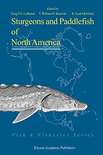 9789048167296: Sturgeons and Paddlefish of North America (Fish & Fisheries Series)