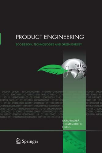 9789048167494: Product Engineering: Eco-Design, Technologies and Green Energy