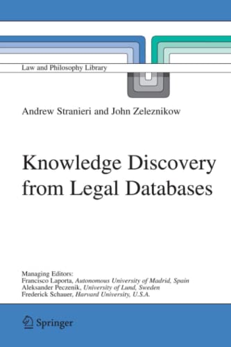 9789048167715: Knowledge Discovery from Legal Databases