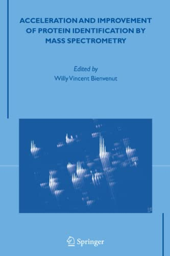 9789048168354: Acceleration and Improvement of Protein Identification by Mass Spectrometry