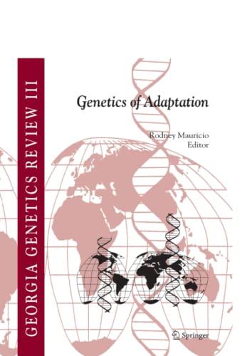 9789048168767: Genetics of Adaptation (Georgia Genetics Review)