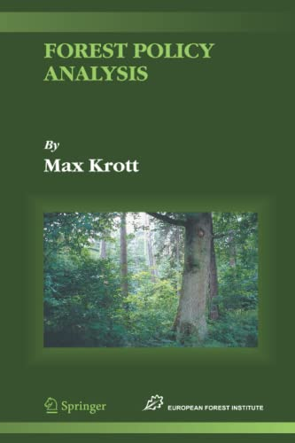 9789048168774: Forest Policy Analysis