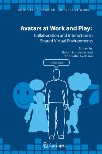 9789048169894: Avatars at Work and Play: Collaboration and Interaction in Shared Virtual Environments (Computer Supported Cooperative Work)