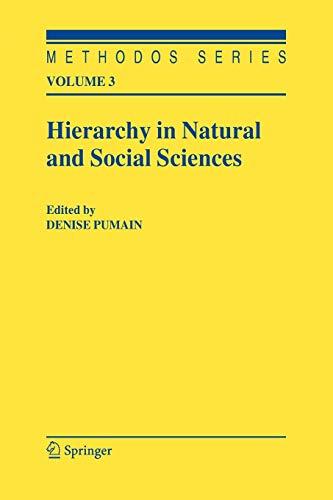 9789048170500: Hierarchy in Natural and Social Sciences (Methodos Series)