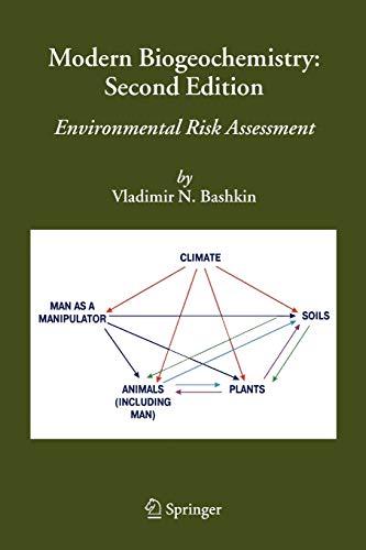 9789048170630: Modern Biogeochemistry: Environmental Risk Assessment