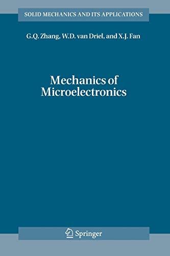 9789048172313: Mechanics of Microelectronics (Solid Mechanics and Its Applications)