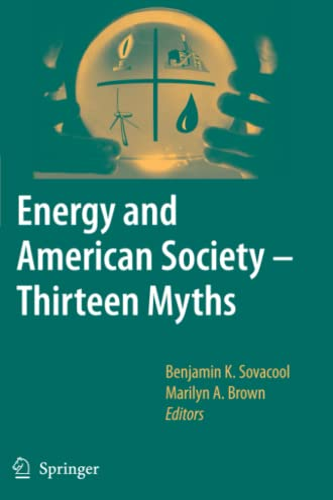 9789048173952: Energy and American Society – Thirteen Myths