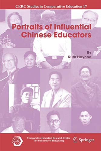 9789048173969: Portraits of Influential Chinese Educators (CERC Studies in Comparative Education)