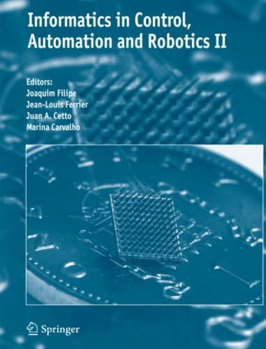 Informatics in Control, Automation and Robotics II: Springer
