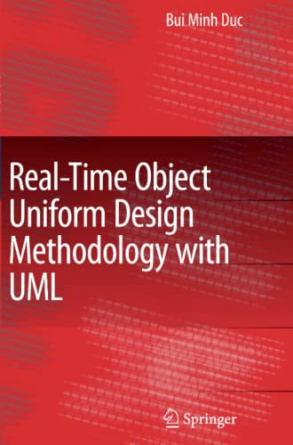 9789048174942: Real-Time Object Uniform Design Methodology with UML