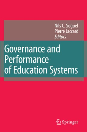 9789048176427: Governance and Performance of Education Systems
