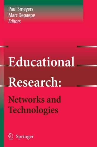 9789048176816: Educational Research: Networks and Technologies