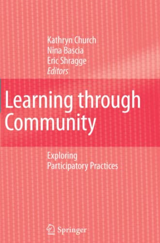 9789048176915: Learning through Community: Exploring Participatory Practices