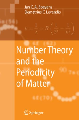 Number Theory and the Periodicity of Matter: Jan C. A. Boeyens
