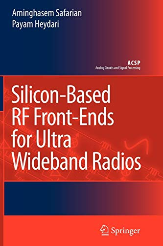 9789048177059: Silicon-Based RF Front-Ends for Ultra Wideband Radios (Analog Circuits and Signal Processing)