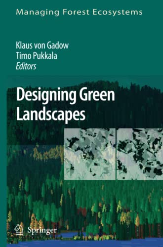 9789048177158: Designing Green Landscapes (Managing Forest Ecosystems)