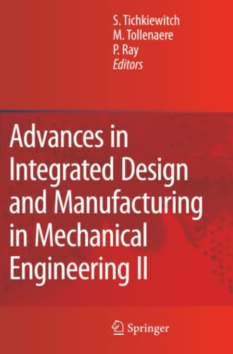 9789048177165: Advances in Integrated Design and Manufacturing in Mechanical Engineering II