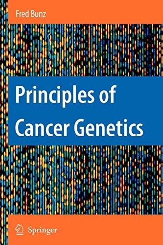 9789048177264: Principles of Cancer Genetics