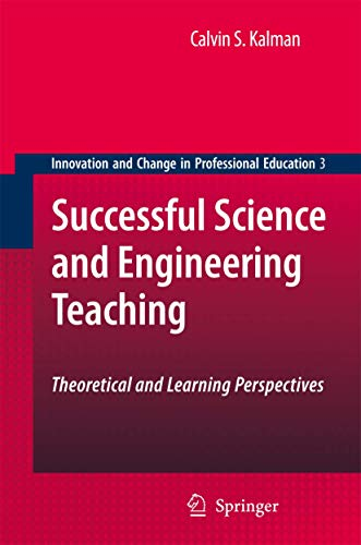 9789048177608: Successful Science and Engineering Teaching: Theoretical and Learning Perspectives (Innovation and Change in Professional Education)