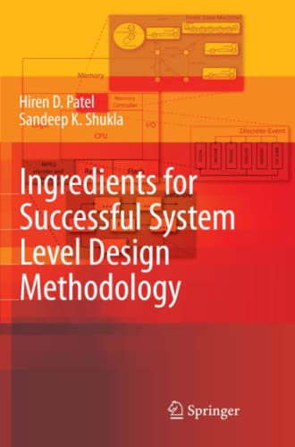 9789048178902: Ingredients for Successful System Level Design Methodology