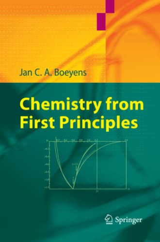 9789048179077: Chemistry from First Principles