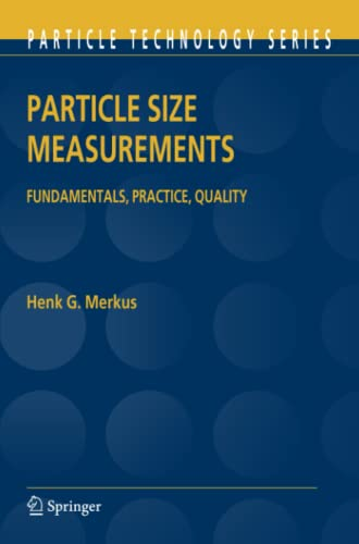 9789048180523: Particle Size Measurements: Fundamentals, Practice, Quality (Particle Technology Series)