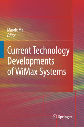 9789048181018: Current Technology Developments of WiMax Systems