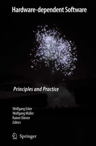 9789048181285: Hardware-dependent Software: Principles and Practice