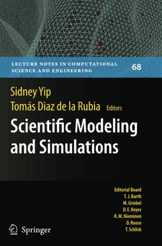 9789048181971: Scientific Modeling and Simulations (Lecture Notes in Computational Science and Engineering)