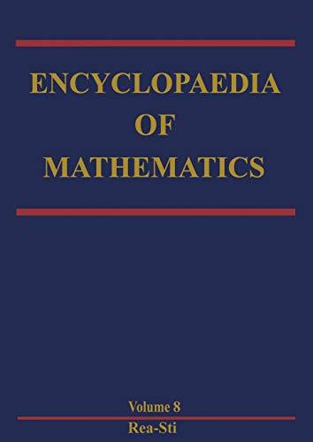 9789048182374: Encyclopaedia of Mathematics: Reaction-Diffusion Equation - Stirling Interpolation Formula