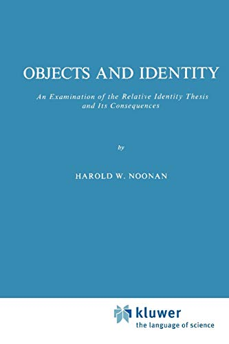 Objects and Identity - Harold W. Noonan