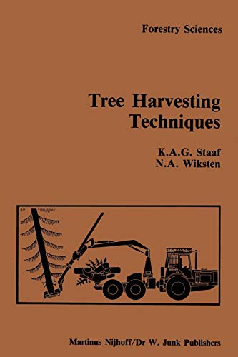 9789048182824: Tree Harvesting Techniques (Forestry Sciences)