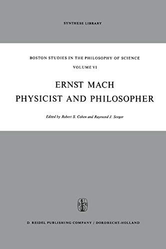 Ernst Mach: Physicist and Philosopher (Paperback)