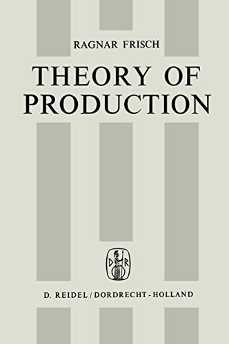 Theory of Production - R. Frisch