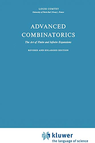 9789048183418: Advanced Combinatorics: The Art of Finite and Infinite Expansions