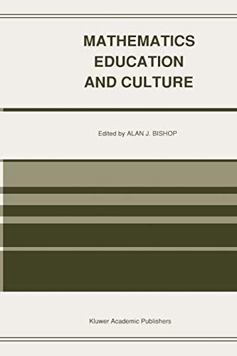Mathematics Education and Culture: Springer