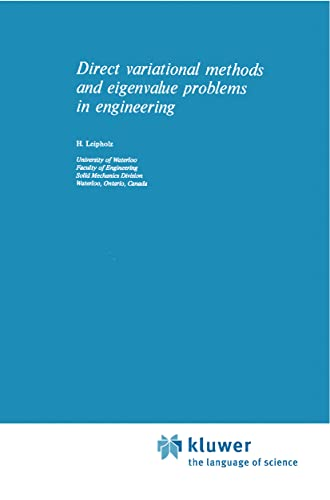 Direct Variational Methods and Eigenvalue Problems in Engineering (Paperback): U. Leipholz