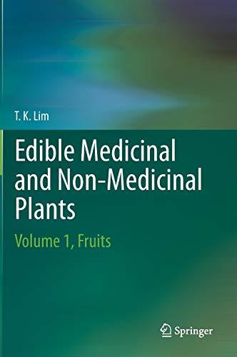 9789048186600: Edible Medicinal and Non-Medicinal Plants: Volume 1, Fruits