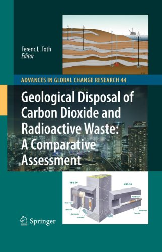 Geological Disposal of Carbon Dioxide and Radioactive Waste: A Comparative Assessment (Hardback): ...