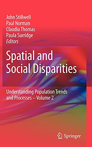 9789048187492: Spatial and Social Disparities (Understanding Population Trends and Processes)