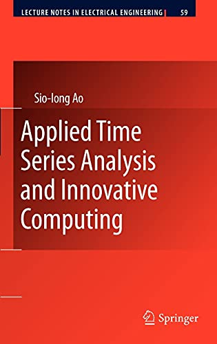 9789048187676: Applied Time Series Analysis and Innovative Computing (Lecture Notes in Electrical Engineering)