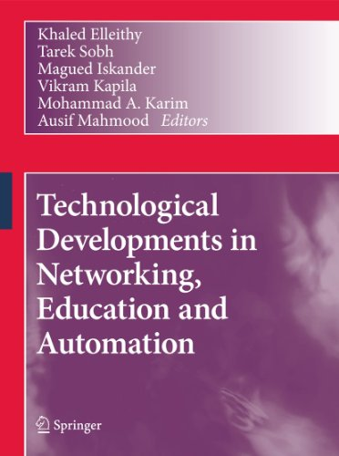 9789048191505: Technological Developments in Networking, Education and Automation