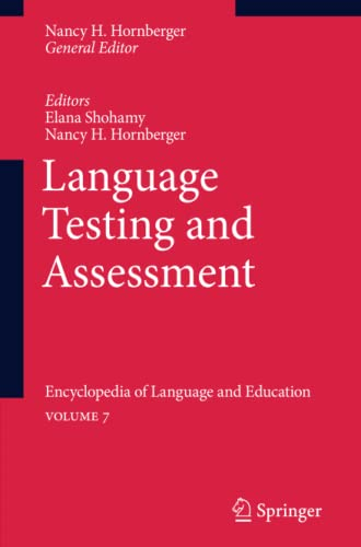 9789048191833: Language Testing and Assessment: Encyclopedia of Language and EducationVolume 7