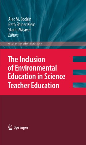 9789048192212: The Inclusion of Environmental Education in Science Teacher Education (ASTE Series in Science Education)