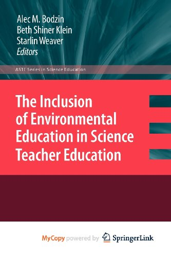 9789048192236: The Inclusion of Environmental Education in Science Teacher Education