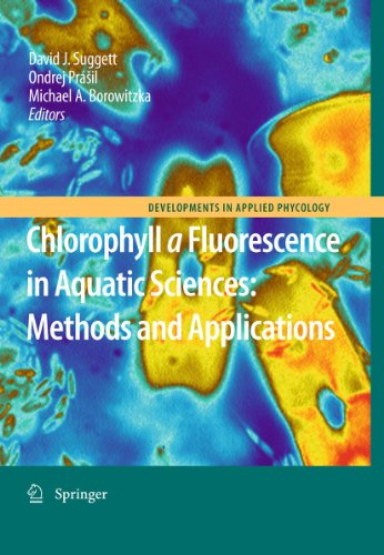 9789048192670: Chlorophyll a Fluorescence in Aquatic Sciences: Methods and Applications (Developments in Applied Phycology)